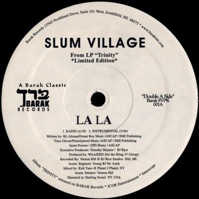 Slum Village - La La / Club Banger
