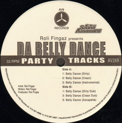 DJ Roli Fingaz - Da Belly Dance