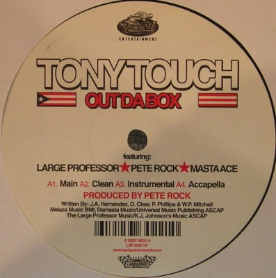 Tony Touch - Out Da Box / Capicu