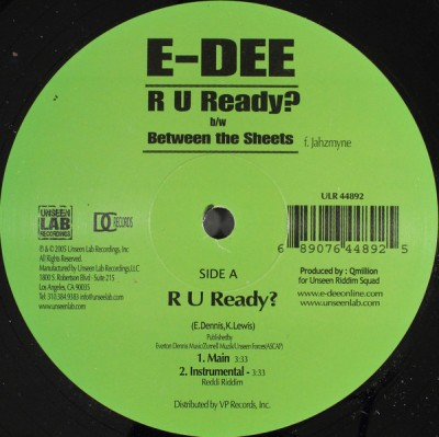 E-Dee - R U Ready? / Between The Sheets