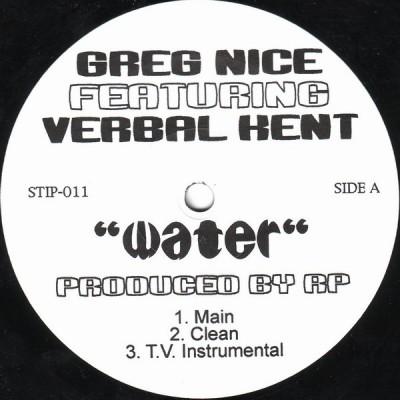 Greg Nice - Water