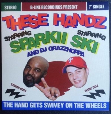These Handz - The Hand Gets Swivey On The Wheels