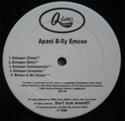 Apani B. Fly - Estragen / Soul Control