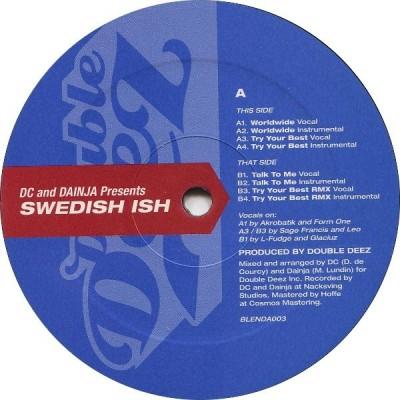 Double Deez - Swedish Ish EP