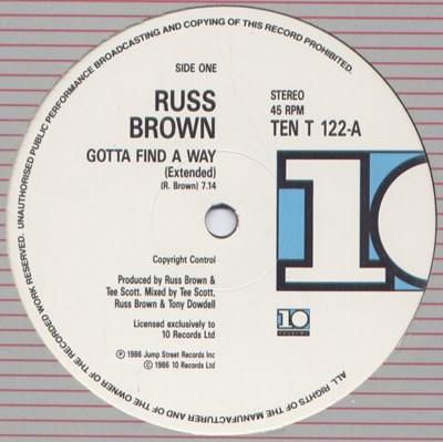 Russ Brown - Gotta Find A Way