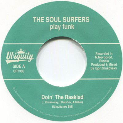 The Soul Surfers - Doin' The Rasklad / Girl From Sao Paulo