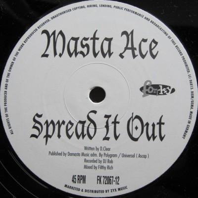 Masta Ace - Spread It Out / Rap 2K1