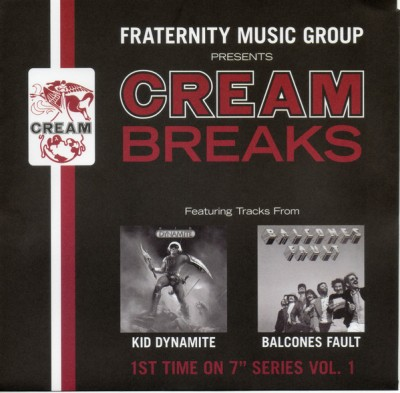 Kid Dynamite - Fraternity Music Group Presents Cream Breaks