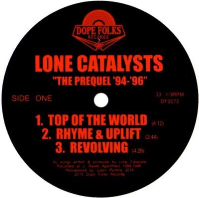Lone Catalysts - The Prequel '94-'96