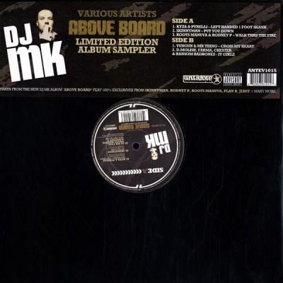 DJ MK - Above Board (Limited Edition Album Sampler)