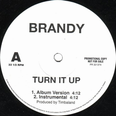 Brandy - Turn It Up