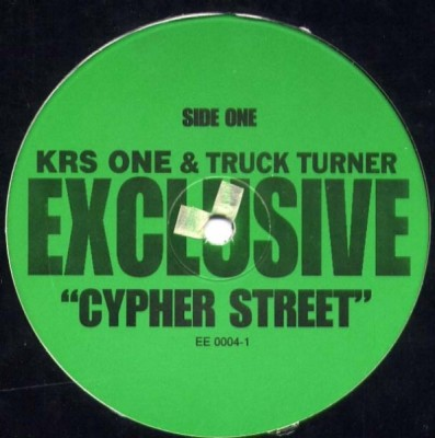 KRS-One - Cypher Street / Canibitch