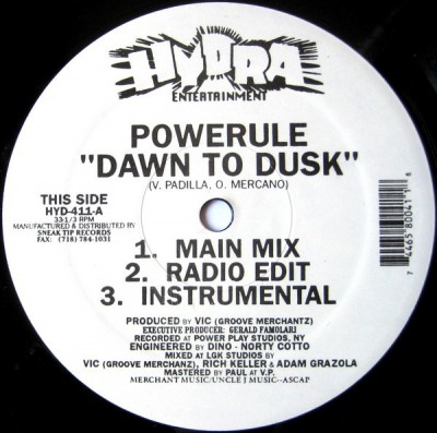 Powerule - Dawn To Dusk