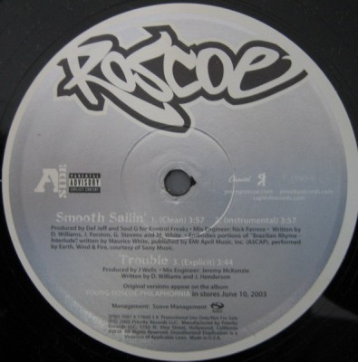 Roscoe - Smooth Sailin'