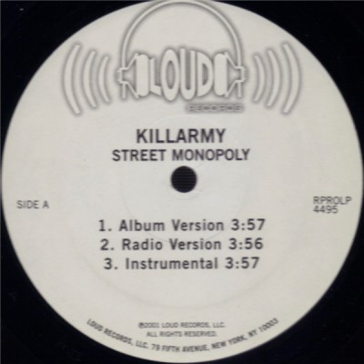 Killarmy - Street Monopoly / Monster