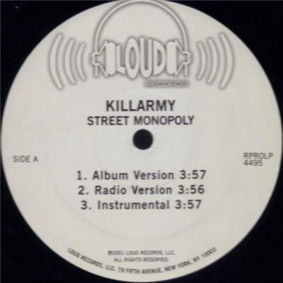 Killarmy - Street Monopoly / Monster