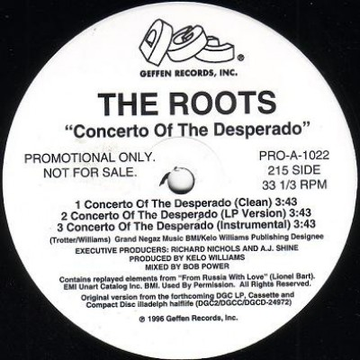 The Roots - Concerto Of The Desperado / UNIverse At War