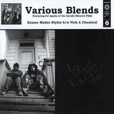 Various Blends - Krazee Madeo Stylez / Pick A Chemical