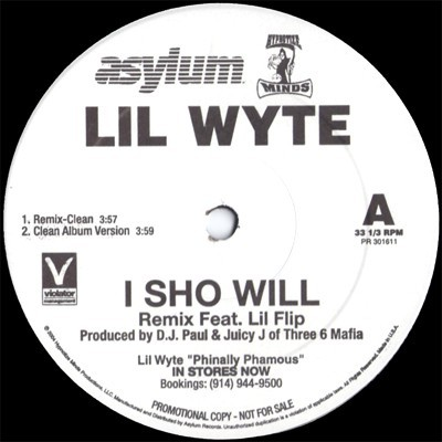 Lil' Wyte - I Sho Will (Remix)