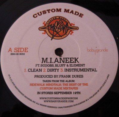 Custom Made - M.I.Aneek