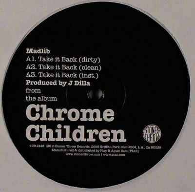 Various - Chrome Children Sampler