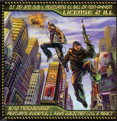 DJ JS-1 - License 2 Ill / Nowadayz