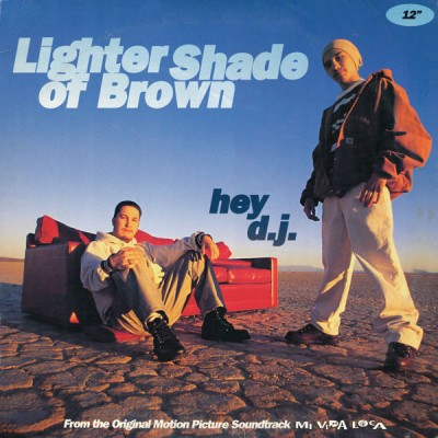 Lighter Shade Of Brown - Hey D.J.