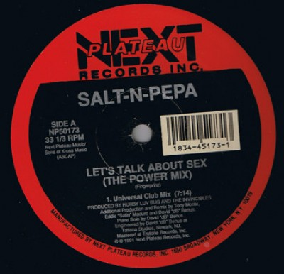 Salt 'N' Pepa - Let's Talk About Sex (The Power Mix)