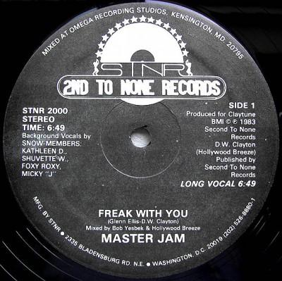 Master Jam - Freak With You
