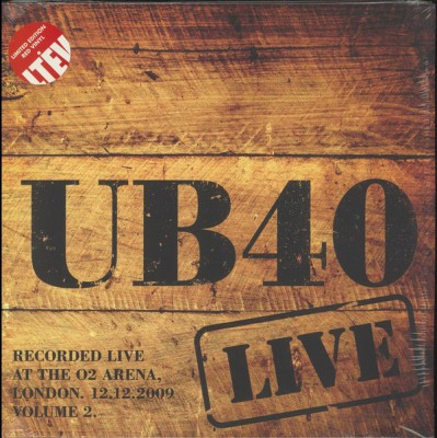 UB40 - Live At The O2 Arena London. 12.12.2009 Volume 2