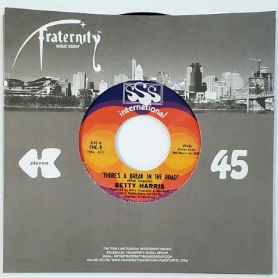 Betty Harris - There's A Break In The Road / Big Bad John
