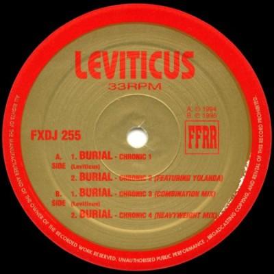 Leviticus - Burial