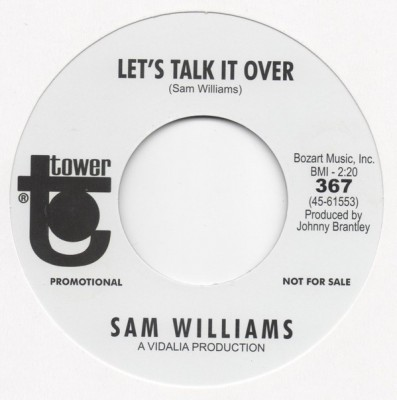 Sam Williams - Let's Talk It Over / Love Slipped Through My Fingers