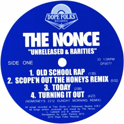 The Nonce - Unreleased & Rarities