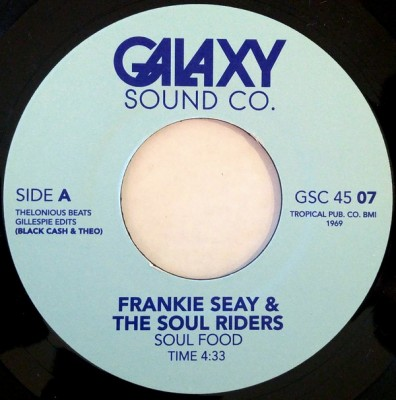 Frankie Seay & The Soul Riders / Lyn Christopher - Soul Food / Take Me With You