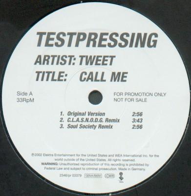 Tweet - Call Me