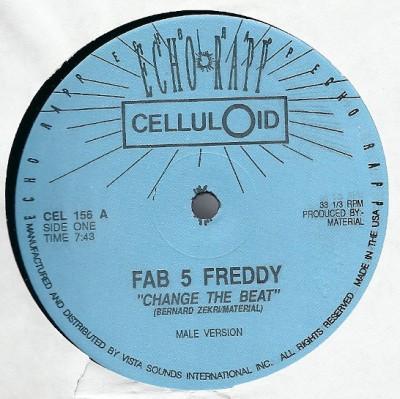 Fab 5 Freddy / Fab 5 Betty - Change The Beat