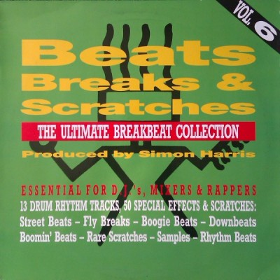 Simon Harris - Beats, Breaks & Scratches Volume 6