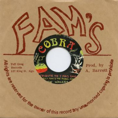 "Aston ""Family Man"" Barrett / The Rebel Arms / The Wailers - Tribute To Y Mas Gan / Steppers Rock"