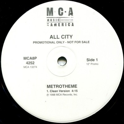 All City - Metrotheme