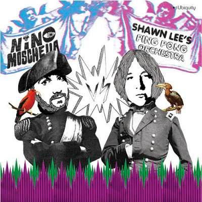 Shawn Lee's Ping Pong Orchestra vs Nino Moschella - Kiss The Sky EP