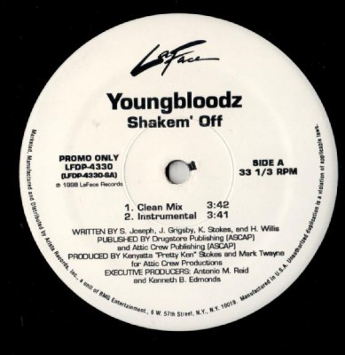 YoungBloodZ - Shakem' Off