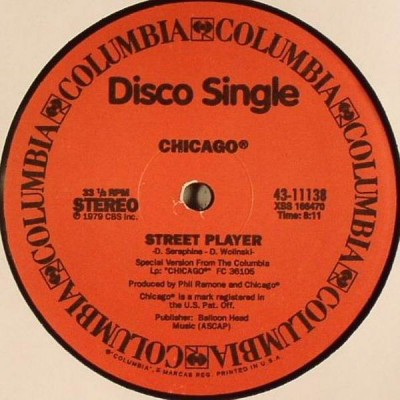 Chicago / Boz Scaggs - Street Player / Lowdown