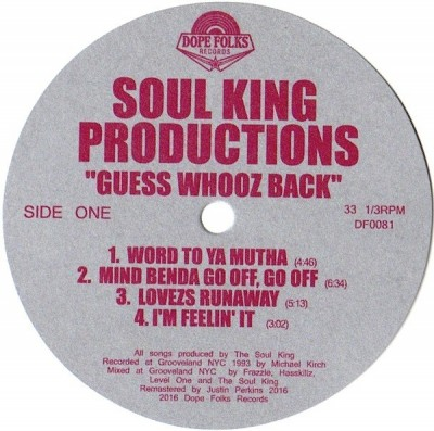 Soul KIngz - Guess Whooz Back