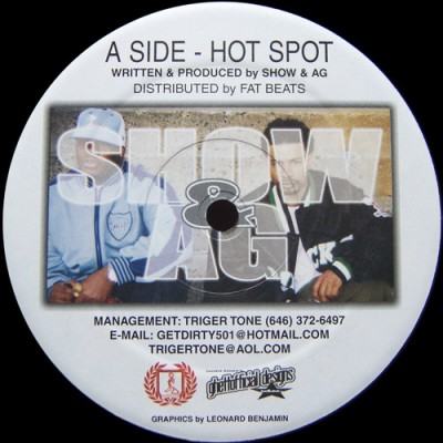 Showbiz & A.G. - Hot Spot / Oops