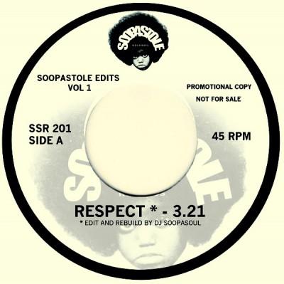 DJ Soopasoul - Soopastole Edits Volume 1