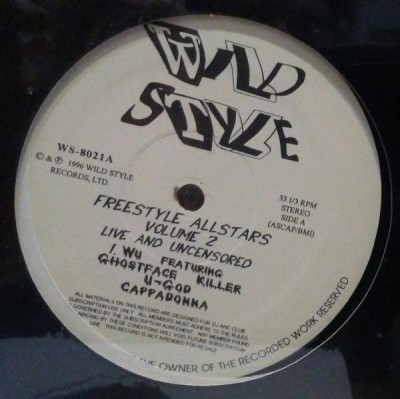 Various - Freestyle Allstars - Volume 2