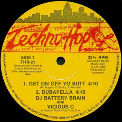 DJ Battery Brain - Get On Off Yo Butt