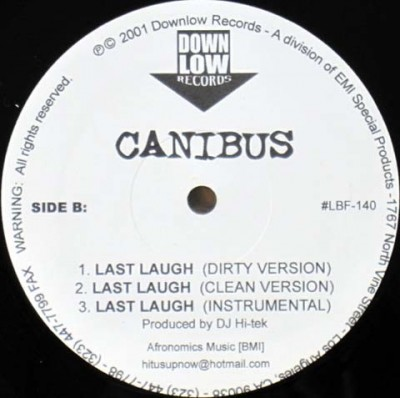 Canibus - Rip The Jacker