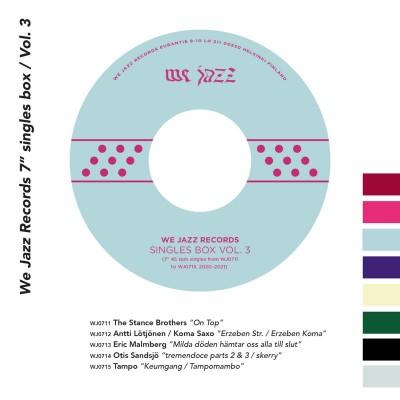 "Various - We Jazz Records 7"" Singles Box / Vol. 3"